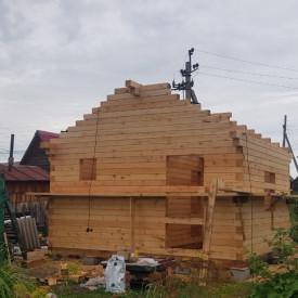 Строительство бани СНТ Майский
