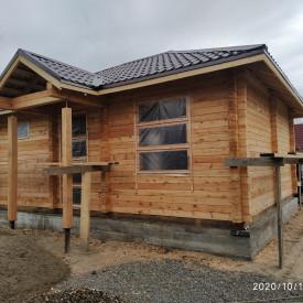 Дом из бруса кедра